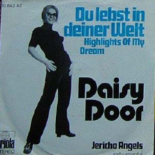 Albumcover Daisy Door - Du lebst in deiner Welt /  Jericho Angels (Orch. Peter Thomas, instr.)