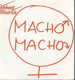 Albumcover Rainhard Fendrich - Macho Macho (Maxi Single)