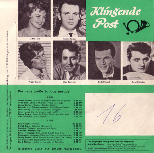 Schlagerparade 1960 1960 Review