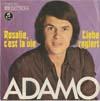 Cover: Adamo - Adamo / Rosalie cest la vie / Liebe regiert