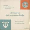 Cover: Lale Andersen - Lale Andersen / Lale Andersen singt unvergessene Erfolge