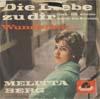 Cover: Melitta Berg - Melitta Berg / Die Liebe zu Dir (Geh ih allein durch die Straßen) (The Wonder of You) / Wunderbar