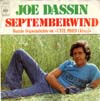 Cover: Dassin, Joe - Septemberwind (Lete Indien) /  Ce nest rien que du vent
