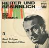 Cover: Rene Deltgen - Rene Deltgen / Rene Deltgen liest Fancois Villon