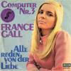 Cover: France Gall - France Gall / Computer Nr. 3 / Alle reden von der Liebe