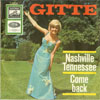 Cover: Gitte - Gitte / Nashville Tennessee / Come Back