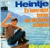 Cover: Heintje (Simons) - Heintje (Simons) / Es kann nicht immer nur die Sonne scheinen / Alles  vorbei