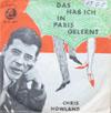 Cover: Chris Howland - Chris Howland / Das hab ich in Paris gelernt / Blonder Stern