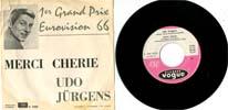Cover: Udo Jürgens - Udo Jürgens / Merci Cherie / Das ist nicht gut fuer mich