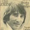 Cover: Udo Jürgens - Udo Jürgens / Rhodos im Regen / Nur ein Lächeln