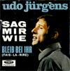 Cover: Udo Jürgens - Udo Jürgens / Sag mir wie / Bleib bei ihr (Fais-la-rire)