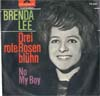 Cover: Brenda Lee - Drei rote Rosen blühn / No My Boy