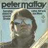 Cover: Peter Maffay - Peter Maffay / Samstag abend in unserer Straße / Liebe tief wie das Meer