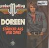 Cover: Peter Maffay - Peter Maffay / Doreen / Stärker als wir zwei