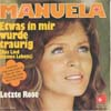 Cover: Manuela - Etwas in mir wurde traurig (Killing Me Softly With His Song) / Letzte Rose