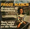 Cover: March, (Little) Peggy - Memories of Heidelberg / Male nicht gleich den Teufel an die Wand