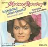 Cover: Marianne Rosenberg - Marianne Rosenberg / Nur Sieger stehn im Licht (The Winner Takes It All) / Ich hab auf Liebe gesetzt (Woman in Love)