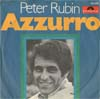 Cover: Peter Rubin - Peter Rubin / Azzuro / Nirgendwo zu Haus