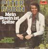 Cover: Peter Rubin - Peter Rubin / Mein Verein ist Spitze / Der kocht doch auch nur mit Wasser