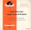 Cover: Rudi Schuricke - Rudi Schuricke / Rudi Schuricke singt Gerhard Winkler