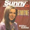 Cover: Simone (Gitta Walther) - Simone (Gitta Walther) / Sunny / El Gitan (Lailola)