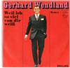 Cover: Gerhard Wendland - Gerhard Wendland / Honey / Weil ich so viel von dir weiß (Les bicyclettes de Belsize)