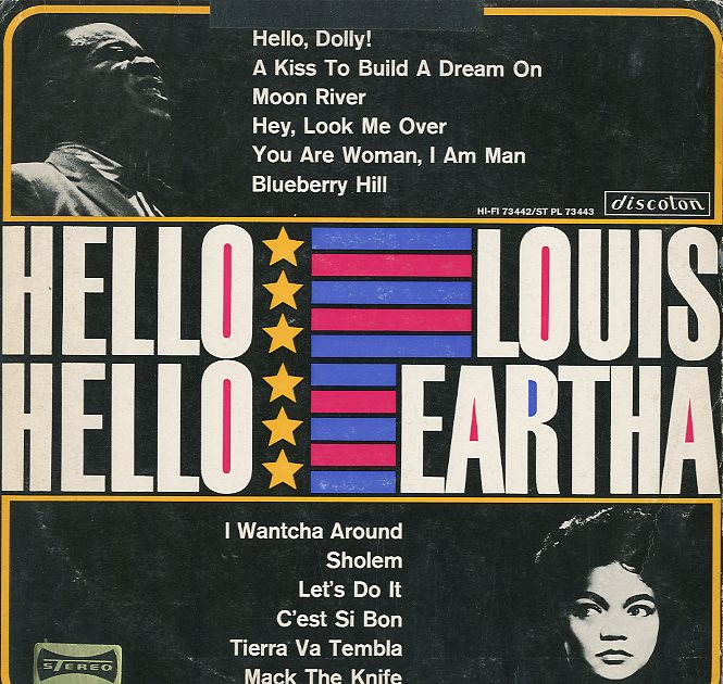 Albumcover Louis Armstrong - Hello Louis - Hello Eartha