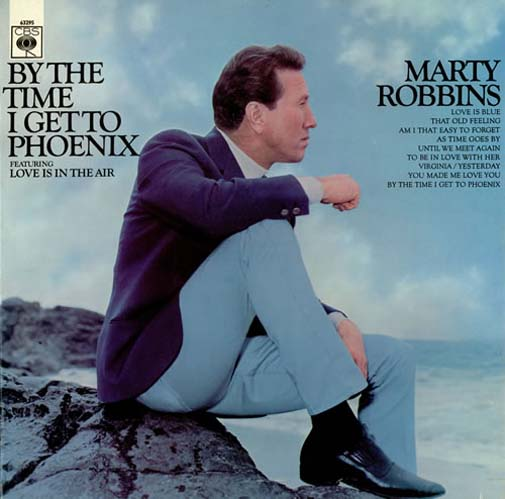 Albumcover Marty Robbins - By The Time I Get To Phoenix