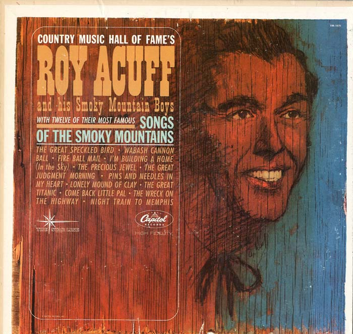 Albumcover Roy Acuff - Songs Of The Smoky Mountains