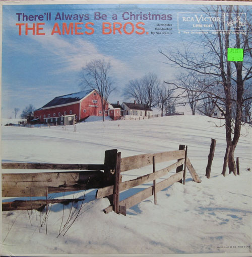 Albumcover Ames Brothers - There Will Always Be A Christmas