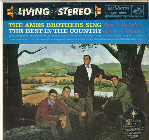 Albumcover Ames Brothers - The Best In the Country