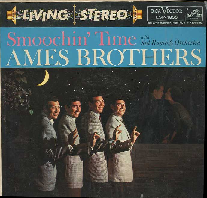 Albumcover Ames Brothers - Smoochin Time