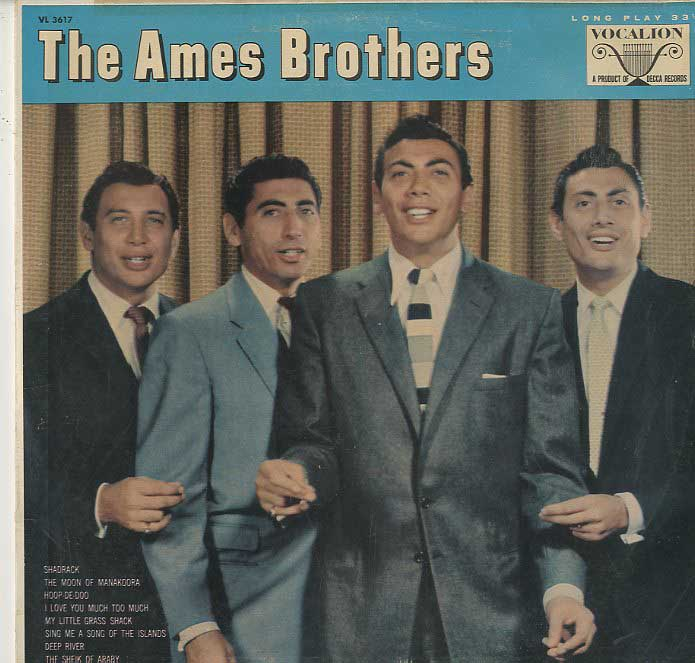 Albumcover Ames Brothers - The Ames Brothers - Vocals With Orchestra