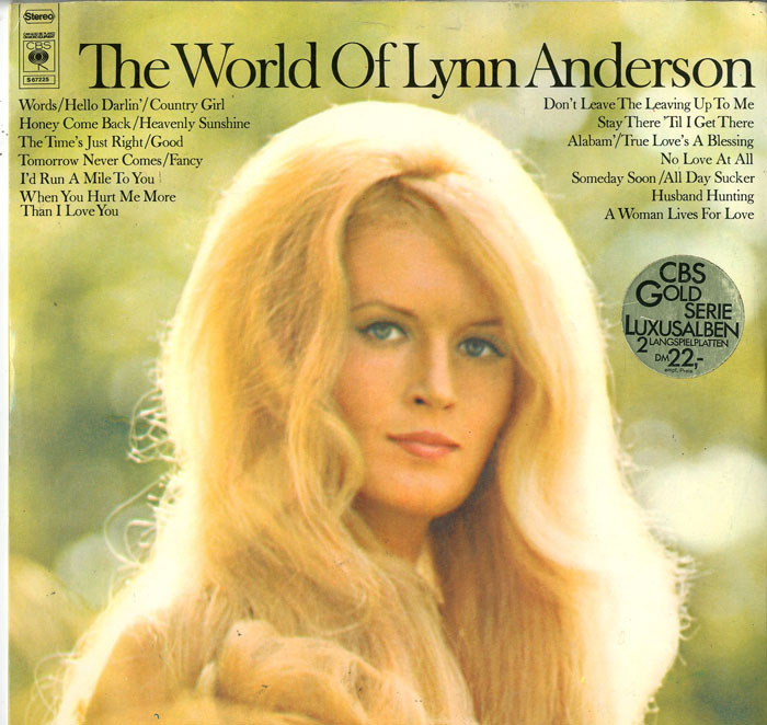 Albumcover Lynn Anderson - The World of Lynn Anderson (DLP)