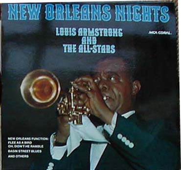 Albumcover Louis Armstrong - New Orleans Nights