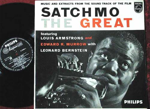 Albumcover Louis Armstrong - Satchmo The Great - Music and Extracts From The Soundtrack of the Film,