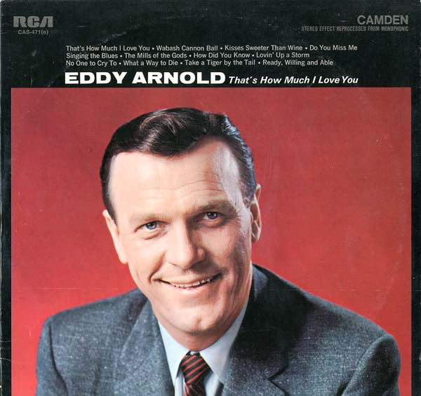 Albumcover Eddy Arnold - That´s How Much I Love You