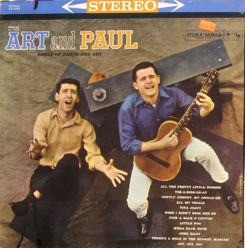 Albumcover Art and Paul - Songs Of Earth and Sky