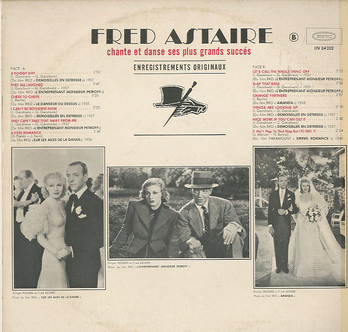 Albumcover Fred Astaire - Fred Astaire Chante et danse ses plus grand succes