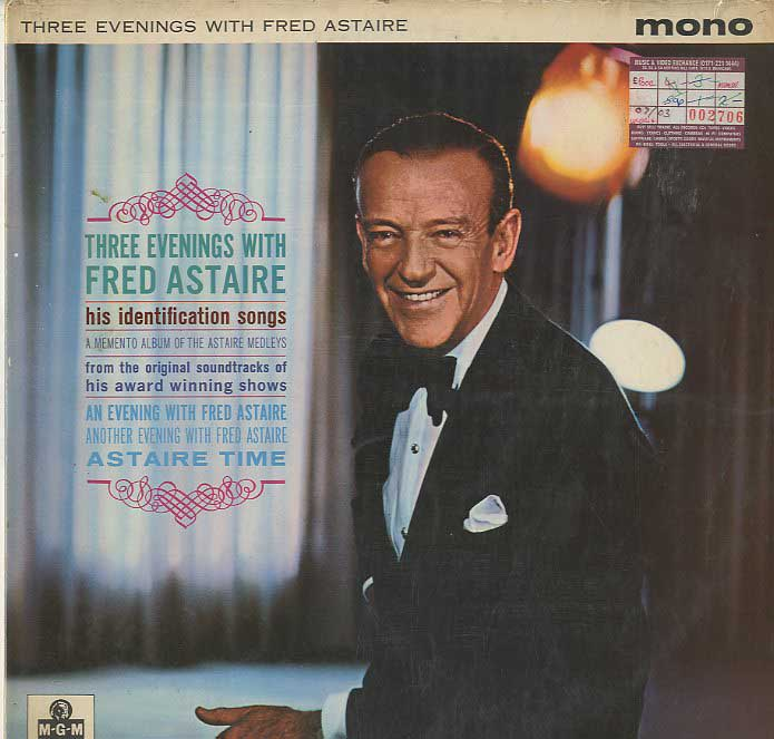 Albumcover Fred Astaire - Three Evenings With Fed Astaire