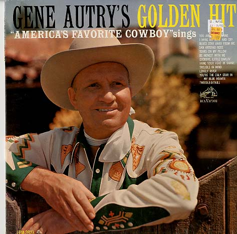 Albumcover Gene Autry - Golden Hits - America´s Favorite Cowboy sings
