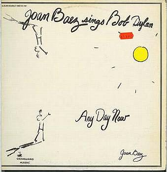 Albumcover Joan Baez - Any Day Now - Joan Baez Sings Bob Dylan