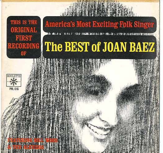 Albumcover Joan Baez - The Best of Joan Baez - Amrica´s Most Exciting Folk Singer