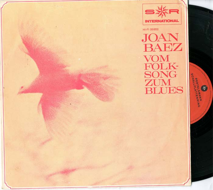 Albumcover Joan Baez - Vom Folk-Song zum Blues (25 cm)