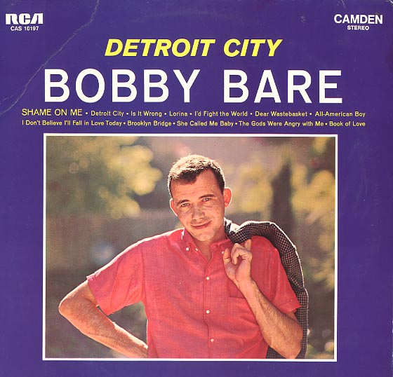 Albumcover Bobby Bare - Detroit City
