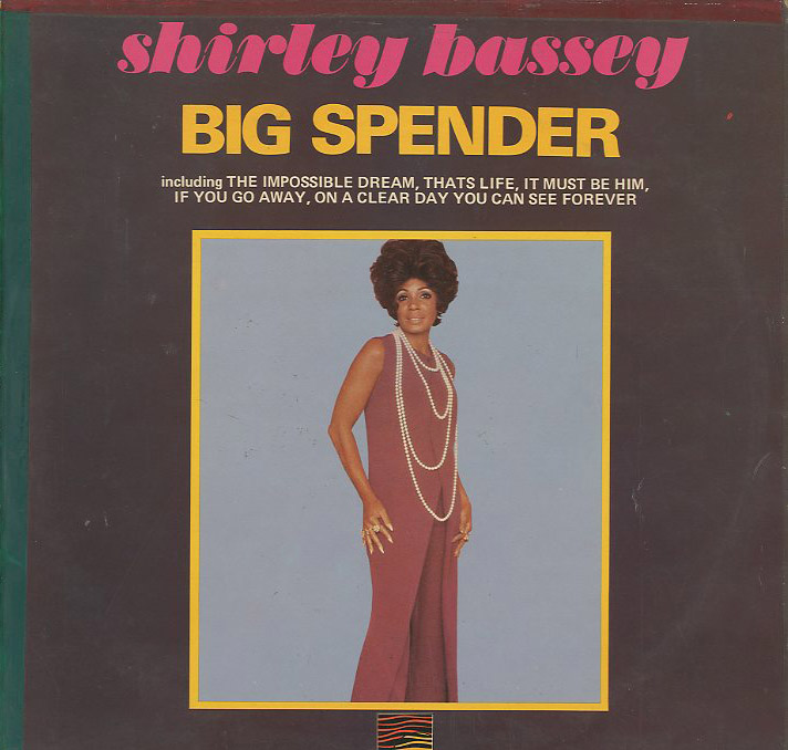 Albumcover Shirley Bassey - Big Spender
