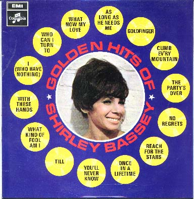 Albumcover Shirley Bassey - Golden Hits of Shirley Bassey