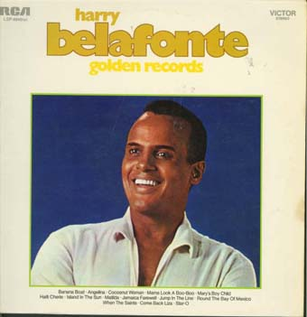 Albumcover Harry Belafonte - Golden Records