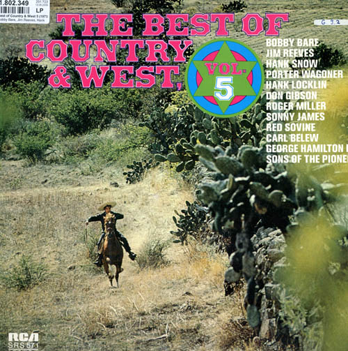Albumcover Various Country-Artists - The Best Of Country and West Volume 5