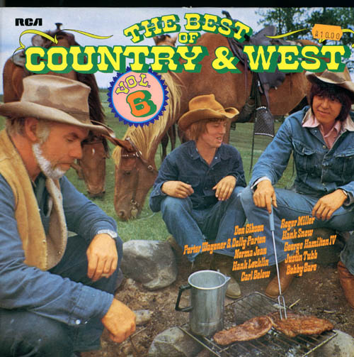 Albumcover Various Country-Artists - The Best Of Country and West Volume 6